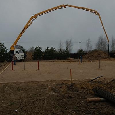 Аренда оборудования и доставка бетона